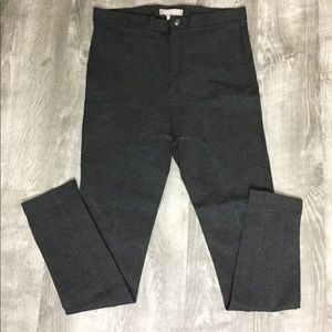 Banana Republic 4 Skinny Leggings Pants Gray  EUC